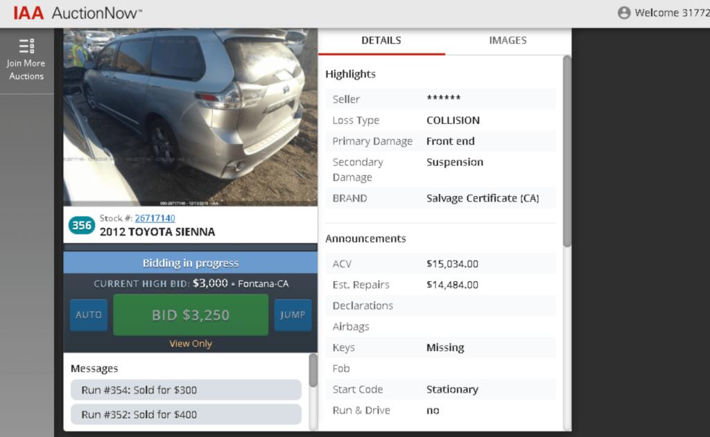 Покупка авто на аукционе из Америки