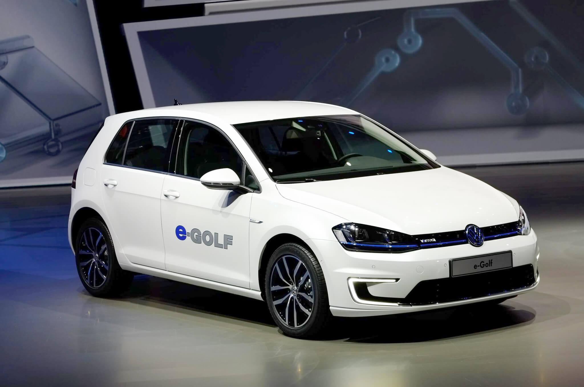 Volkswagen E-Golf купить из США в Беларуси
